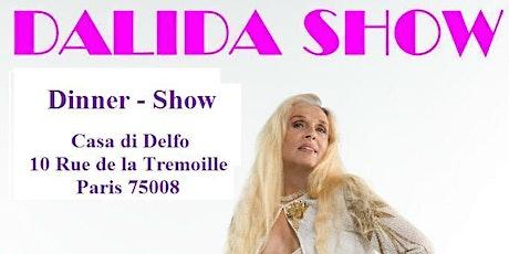 Dalida Show Dîner-Spectacle billets