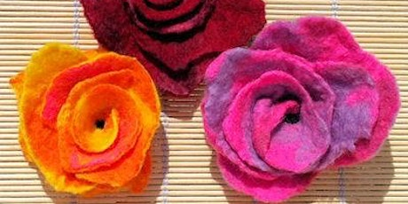 Felting - A Spring Bloom - Mansfield Central Library - Community Learning tickets