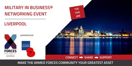 Military in Business Networking Event- Liverpool tickets