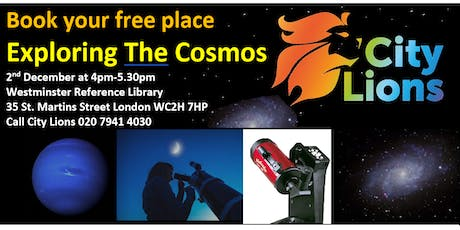 Exploring The Cosmos with City Lions tickets