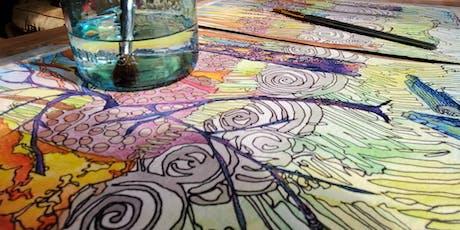 Winter Art Workshop Series: Watercolor tickets