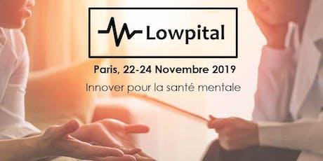 """Soirée de clôture du créathon Lowpital 2019 """"Santé mentale"""" billets"""