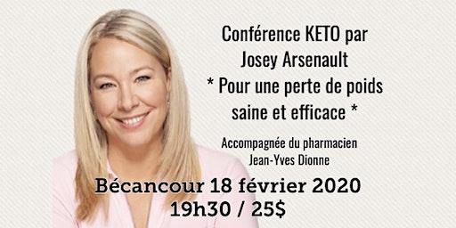 BÉCANCOUR - Conférence KETO Pour une perte de poids saine et efficace! 25$