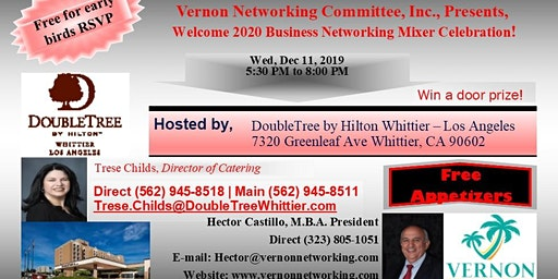 Welcome 2020 Business Networking Mixer Celebration!