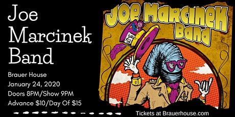Joe Marcinek Band at Brauer House tickets