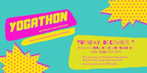 Yogathon for Project Yoga Richmond