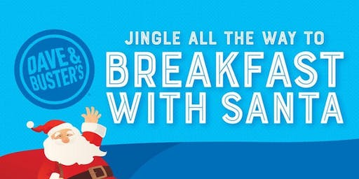 St. Louis Dave and Buster's Breakfast with Santa