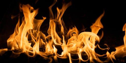 Fire of Change - Yoga + Yoga Nidra.  Set & Keep Your Resolutions!
