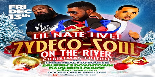ZYDECO-SOUL ON THE RIVER w/TYREE NEAL & DJ BOOTSIE