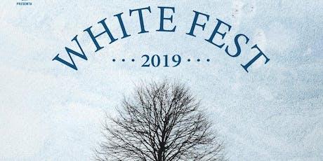 Ausentes Mx - White Fest 2019 boletos