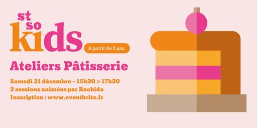 St So KIDS // Atelier Pâtisserie