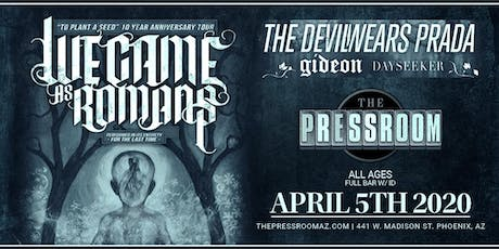 We Came As Romans: To Plant A Seed 10 Year Anniversary Tour @ The Pressroom tickets