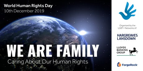 WE ARE FAMILY: Caring About Our Human Rights tickets