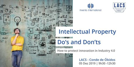Intellectual Property Do's and Dont's bilhetes