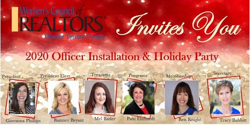 2020 Officer Installation & Holiday Party