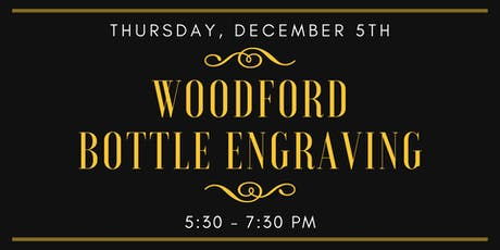 Woodford Bottle Engraver tickets