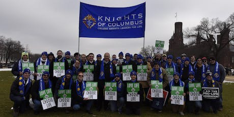 College Knights at the 2020 March for Life tickets