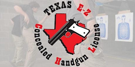 EZCHL - Texas LTC License to Carry a Handgun Class (Formerly CHL) tickets