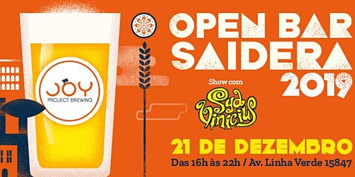 OPEN BAR SAIDERA 2019 JOY PROJECT BREWING
