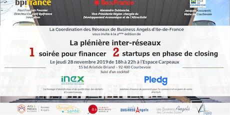 Plénière inter-réseaux Business Angels d'Ile-de-France 2019 billets