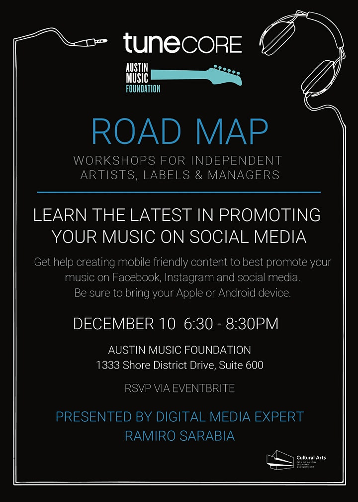 ROAD MAP: Promote Your Music on Social Media image