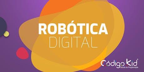 Oficina de Robótica - Código Kid ingressos
