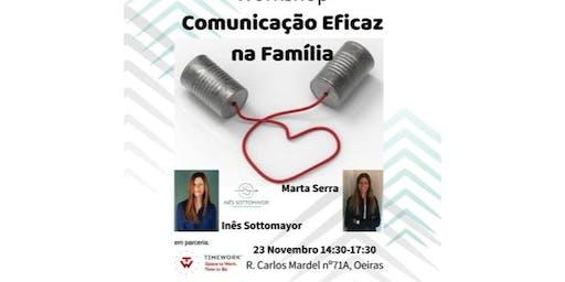 Workshop Comunicação Eficaz na Família