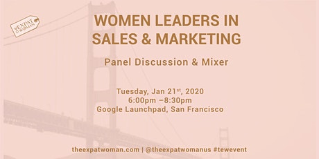 Women Leaders in Sales and Marketing: Panel Discussion and Mixer  tickets
