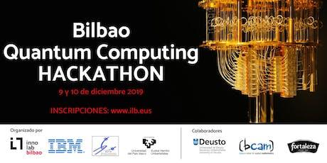 Bilbao Quantum Computing Hackathon entradas