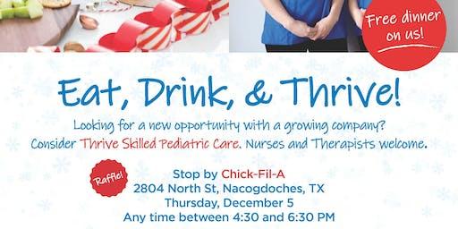 Eat, Drink & Thrive - Nacogdoches, TX