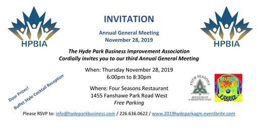 Hyde Park BIA 2019 Annual General Meeting