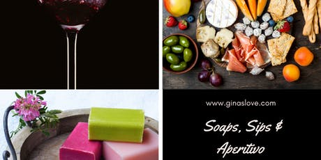 Soaps, Sips and Aperitivo: Soap Making with an Italian Inspired Happy Hour tickets