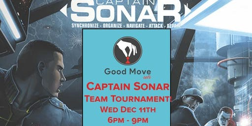 Captain Sonar Team Tournament December 11th!