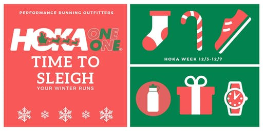 Time to... SLEIGH Hoka ONE ONE Holiday Run - PRO Brookfield