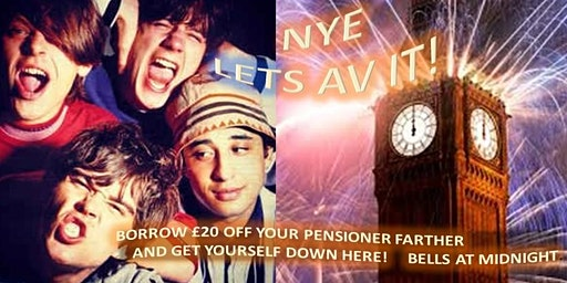 NEW YEARS EVE                             The Stone Roses Bar, Leeds