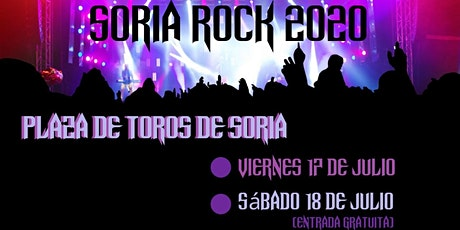 SORIA ROCK 20 entradas