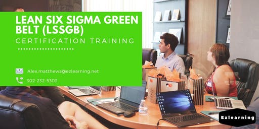 Lean Six Sigma Green Belt (LSSGB) Classroom Training in Chibougamau, PE