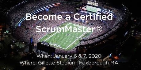 Certified ScrumMaster® Course tickets