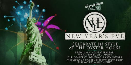 NYE Event 2019 - New  Years Eve at The Oyster House