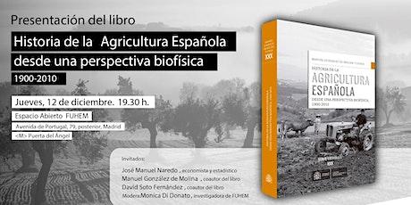 Historia de la agricultura española desde la perspectiva biofísica entradas
