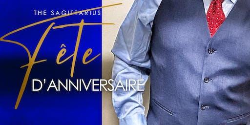The Sagittarius Fete D'anniversaire