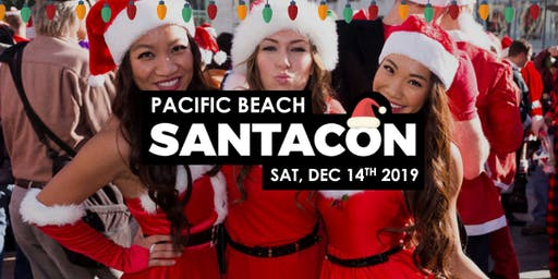 Pacific Beach Santacon 2019