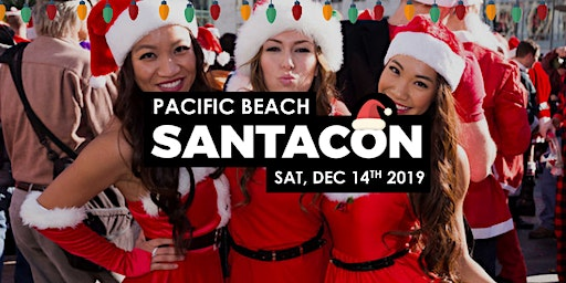 Pacific Beach Santacon 2019