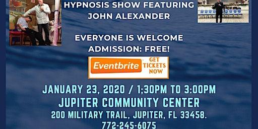 John Alexander Hypnosis Show at Jupiter Community Center