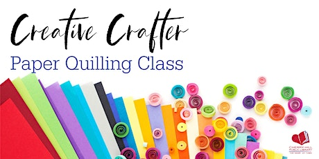 Creative Crafter - Paper Quilling Class tickets