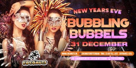 Bubbling Bubbels NYE tickets