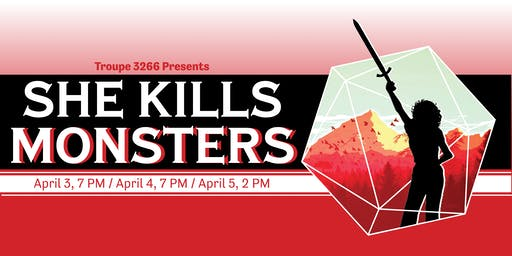 PUBLICITY IE: Troupe 3266's She Kills Monsters