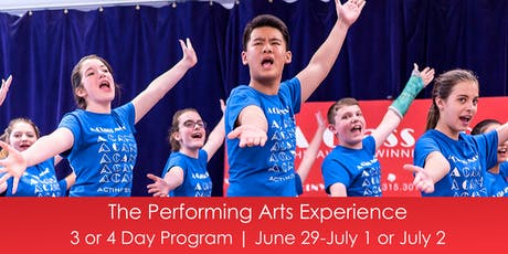 The Performing Arts Experience tickets