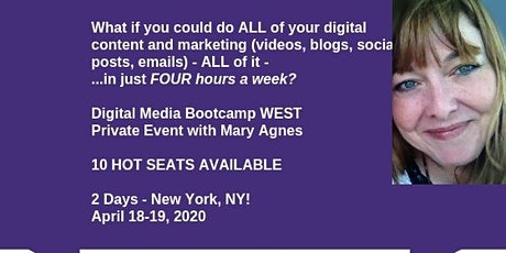 Digital Marketing Bootcamp EAST: Maximizing Content, Funnel & Social Media  tickets