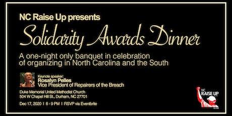 1st Annual Solidarity Awards Dinner tickets